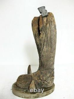 17th CENTURY CARVED RELIC FROM A LARGE WOODEN STATUE C1690'S