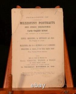 1903-1904 Engraving Catalogues from Christie, Manson and Woods Auction House