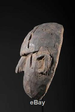 193# Antique Himalayan Mask, From West Nepal With CERTIFICATE