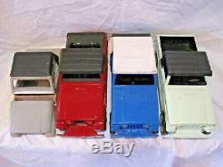 1969 Tonka Proto Type Set From Tonka Engineer, 4 Models with Original catalogue
