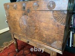 19th century bridal chest from Antigua, Guatemala