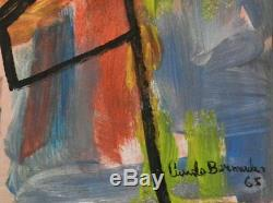 2 Original Cundo Bermudez Oil on Wood board withCOA from artist sold as a set