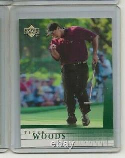 2001 Upper Deck Golf TIGER WOODS Rookie Card pulled from hobby box