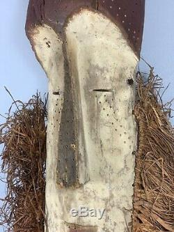 200322 Large Old & Tribal used African Mask from the Fang Gabon