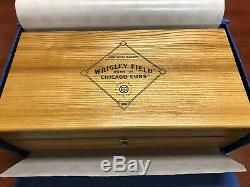 2016 Original Grain Chicago Cubs Mens watch Made with wood from Wrigley Seats