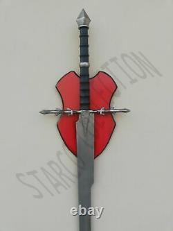 2swords Witch King Sword + Ringwraith Swords from Lord of The Rings +Wall Plaque