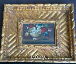 3 Old Still Life Oil Paintings, Gilt Wood Frames from Florentia made in Spain