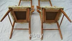 4VINTAGE Paul McCobb WING BACKDINING CHAIRSPLANNER GROUP FROM WINCHENDON