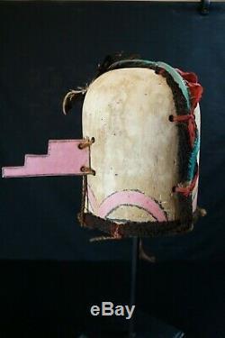 75# Vintage Kachina HELMET/Mask HOPI, Native American, from 60/70s