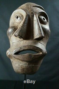 95# OLD! From Late 19th To Early 20th C. GREENLANDIC Ammassalimiut Mask INUIT