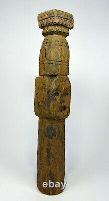 A Cross Roads Guardian Totem from Nepal