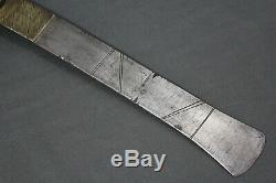 A fine recade (axe) from Toma tribe Sierra Leone, 20th century