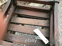 ANTIQUE nice compact plant stand stickley era w5747 PRICE REDUCED from $425