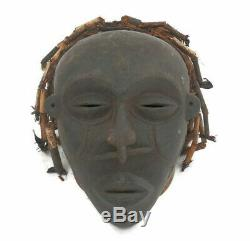 African Chokwe Ceremonial Chief Mask from Angola DRC Democratic Republic Congo