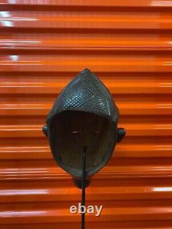 African Lulua Mask from Congo. Authentic