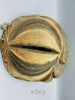 African Tribal Luba Or Songye Kifwebe Mask From A Madison Avenue Gallery