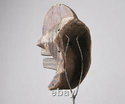 African Tribal mask from SONGYE tribe DRC wooden mask art Congo 2568