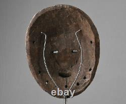 African wooden mask from LEGA tribe DRC Congo 2808