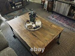 Aiden Coffee Table from World Market Rustic/Farmhouse/Industrial