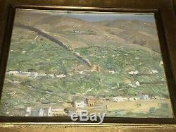 Aldro Hibbard Rockport Listed Artist Oil On Board Spain Village From Vose Galler