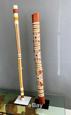An Australian Aboriginal Painted Totem Pole from Elcho Island