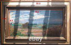 An original framed antique painting from Czech republic painted on 1952 (wooden)