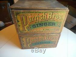 Another antique Country Store Spice Box from Baltimore, Md