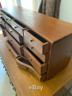 Antique 13 Drawer Spice Cabinet/Box/Apothecary/Chest Fresh From Local Estate