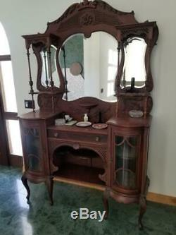 Antique Beautiful Furniture/ Display/Dresser/Vanity from UK Great Condition