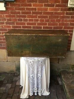 Antique Blanket Chest Box AAFA From Cape Cod