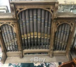 Antique Faux Victorian Organ Pipes From A Carousel