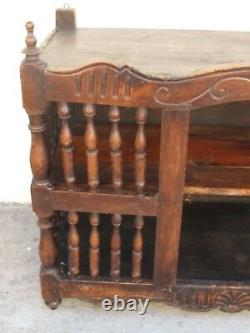 Antique French Panettiere Bread Cabinet from a Patisserie 19th c