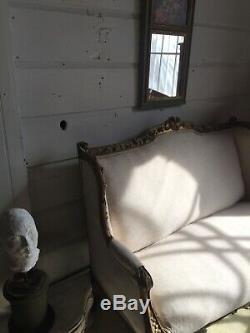 Antique Handmade Sofa/marquiza/love Seat From French Origin