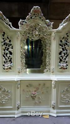 Antique Italian Venetian Dining Room Buffet From About 1940