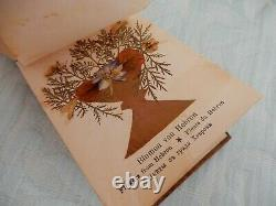 Antique Jerusalem Olive Wood Flowers from the Holy Land book original patina
