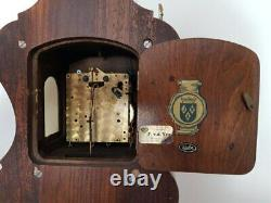 Antique Original Warmink Zaandam Clock from 1950, 8 dayes movement