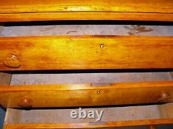 Antique Solid Cherry 3-Drawer Chest of Drawers from Early 1800's