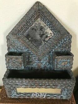 Antique Tramp Art An American Art Form Primitive Made From Found Wood