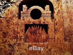 Art Deco Elm Burl Wood Sculpture from San Francisco