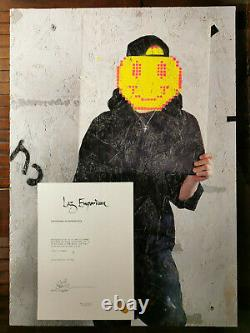 Banksy Lazarides anonymous series 9 / 10 Extremly rare with COA from Laz EDITION