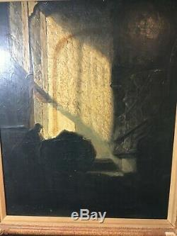 Bought from Kings Rd Chelsea in 1980's Oil on wood after REMBRANDT