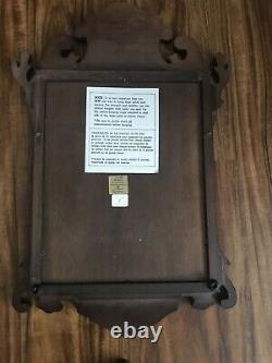COLONIAL WILLIAMSBURG STYLE CHIPPENDALE MIRROR & SHELF From Bombay Company
