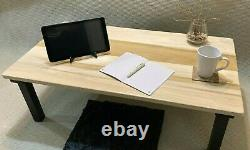 Chabudai Desk Japanese Desk Low Desk Floor Seated Desk Work from Home
