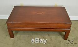 Coffee Table Made From Antique Mahogany Bagatelle Game Box on Recent Wood Frame
