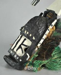 DOGON Kanaga Mask from an ethnologist Mali African Tribal Art TRIBALART BE