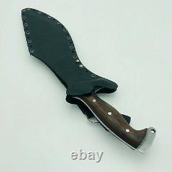 EGKH- 13 Inch Kydex Scourge Kukri Knife Handmade Razor Sharp Blade From Nepal