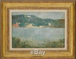EMIL CARLSEN Coastal Scene, from Sotheby's