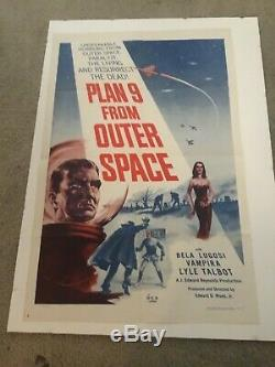 Ed Wood's Plan Nine From Outer Space Movie Poster