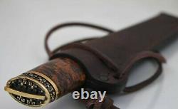 Exclusive Yakut handmade knife byhakh the blade is forged from XB-5 steel