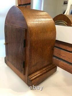 Fine Antique Original German Bracket Mantel Shelf Table Clock From Around 1940